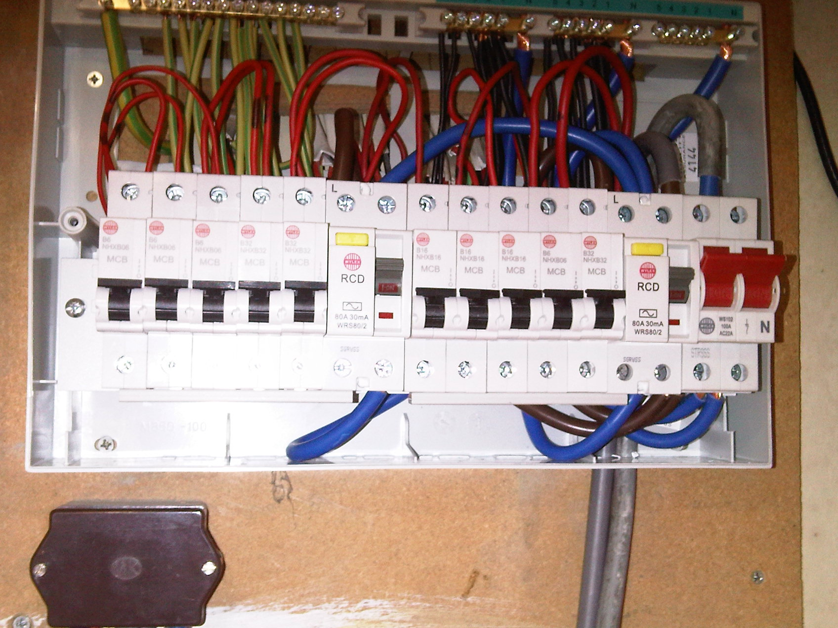 Fusebox 4 household fuse box residential fuse boxes \u2022 wiring diagrams j how to change a fuse box to a breaker box at n-0.co